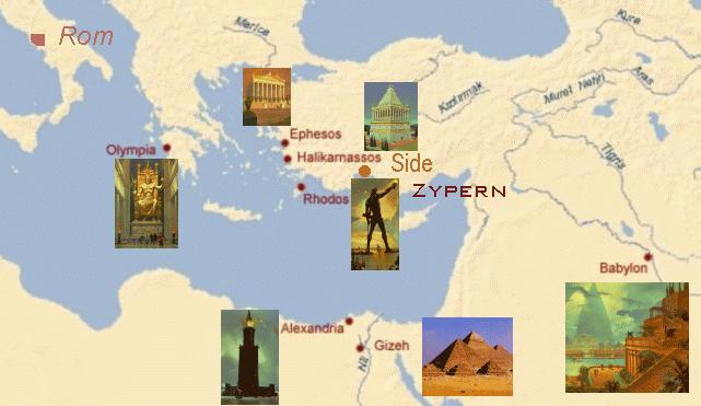 Sieben Weltwunder Der Antike